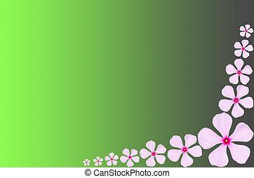 Pink periwinkle flower backgrround - Pink periwinkle flower...