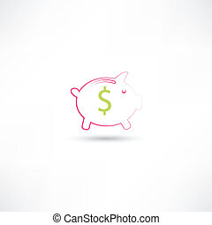pink pig moneybox