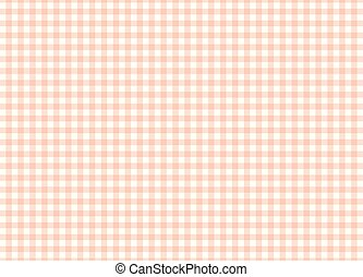 Pink plaid pattern vector background.
