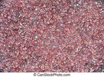 pink plastic polymer material