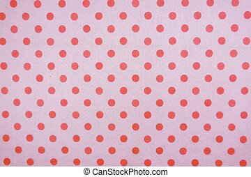 pink polka dot with purple background