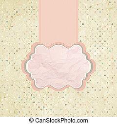 pink., polka, eps, projektować, 8, kropka