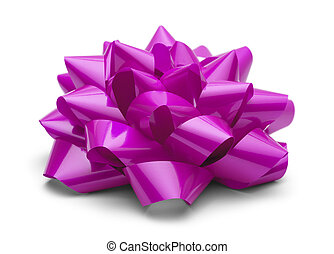 Pink Present Bow