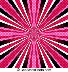 pink-purple, raios, fundo