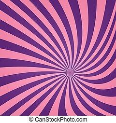 Pink purple vortex design