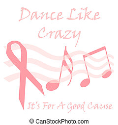 pink ribbon cause - breast cancer benefit pink ribbon poster...