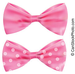 Pink ribbon with gorgeous bow