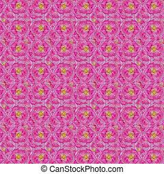 Pink rose seamless pattern background
