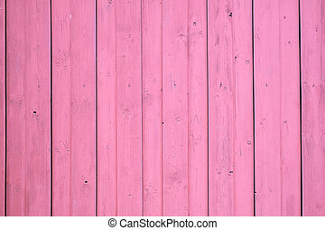 Pink screen of boards