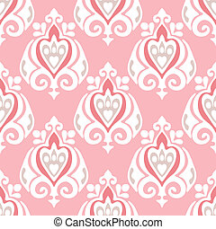 pink  seamless vector background
