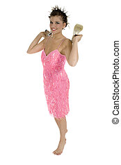 Pink Sequins