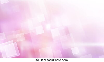 pink shiny squares abstract loopable background
