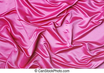 Pink silk backdrop