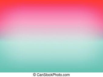 Pink Sky Blue Gradient Background