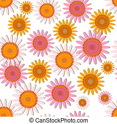 pink soft floral pattern