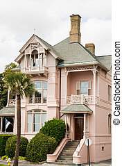Pink Southern Home