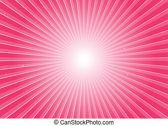 Pink space blast
