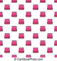 Pink square button pattern