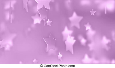 Pink Stars Abstract Art Award Backgrounds Blizzard Blurred...