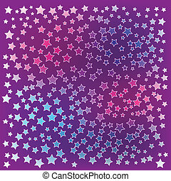 pink stars abstract christmas background