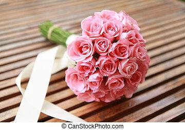 pink stieg, blumen, flower., wedding