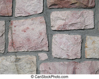 pink stone wall background