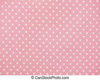 pink sweet polka dot background
