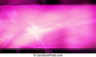 Pink template style abstract loop