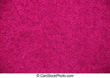 pink texture or background, woolen fiber
