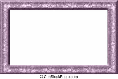 Pink Textured Frame
