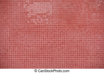 pink tile wall background