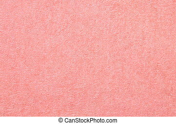 Pink towel texture background
