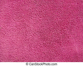 Pink towel texture, cloth background