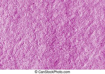 Pink towel texture