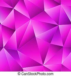 Pink triangle seamless pattern.