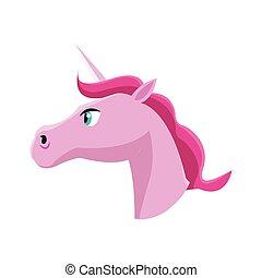 pink unicorn icon