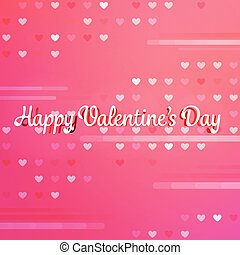 Pink Valentine background with text