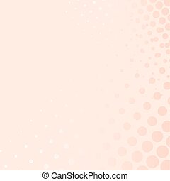 Pink vector background with dots