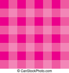 Pink vector plaid background