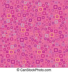 Pink vector retro background