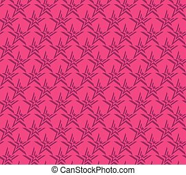pink vector star seamless pattern
