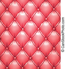 Pink vector upholstery leather pattern background. - Vector...
