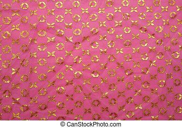 Pink vintage cloth