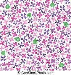 pink, violet lilac flower background- vector illustration