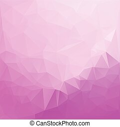 Pink Vivid Color Polygonal Mosaic Background, Vector illustration,  Business Design Templates