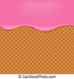 Pink Wafer background