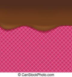 Pink Wafer background