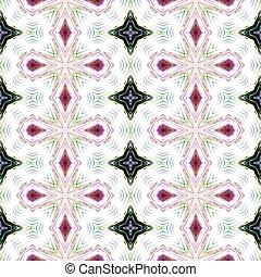 Pink white black seamless pattern