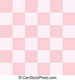 Pink White Chess Board Background