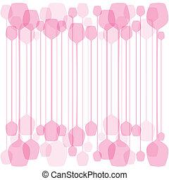 Pink wine glass background